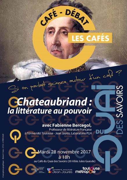 Chateaubriand Quai des savoirs